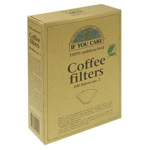 If You Care Coffee Filters, No. 2, 100% Unbleached - 12 x 100 filters