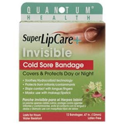 Quantum Super LipCare+ Invisible Cold Sore Bandage - 12 ct