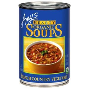 Amy's Hearty French Country Vegetable Soup, Organic - 14.4 ozs.