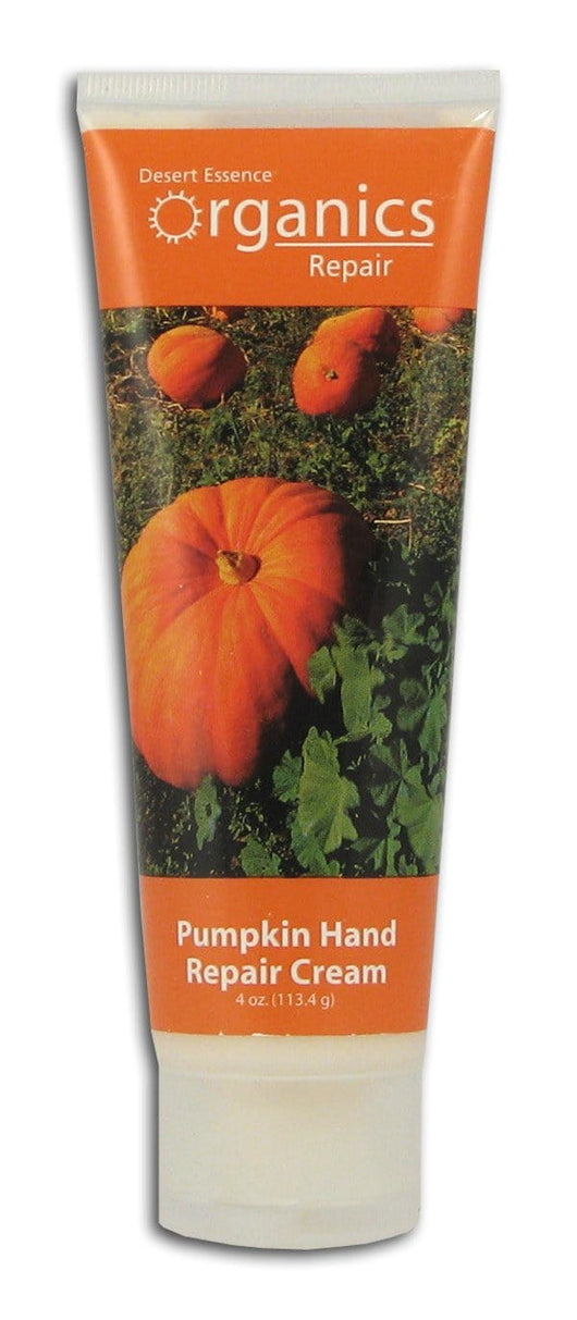 Desert Essence Pumpkin Hand Repair Cream Organic - 4 ozs.