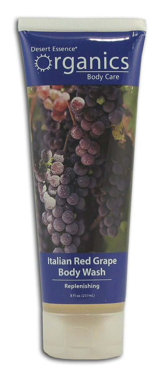 Desert Essence Italian Red Grape Body Wash Organic - 8 ozs.