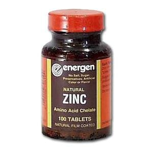 Energen Zinc Chelate 50 mg - 100 tablets