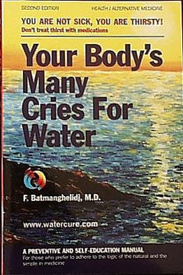 Books Your Body's Many Cries for Water - 1 book