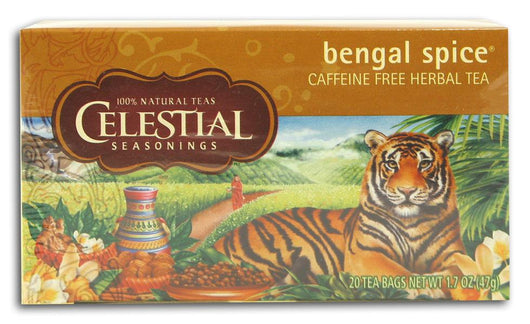 Celestial Seasonings Bengal Spice Tea - 6 x 1 box
