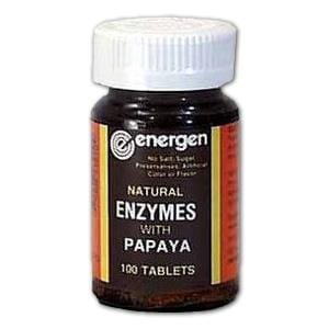Energen Enzymes with Papaya - 100 tablets