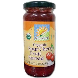 Bionaturae Sour Cherry Fruit Spread Organic - 12 x 9 ozs.