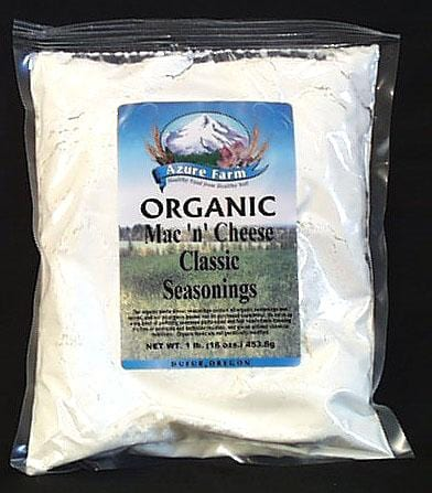 Azure Farm Mac 'n' Cheese Classic Seasoning (White Cheddar) Organic - 1 lb.
