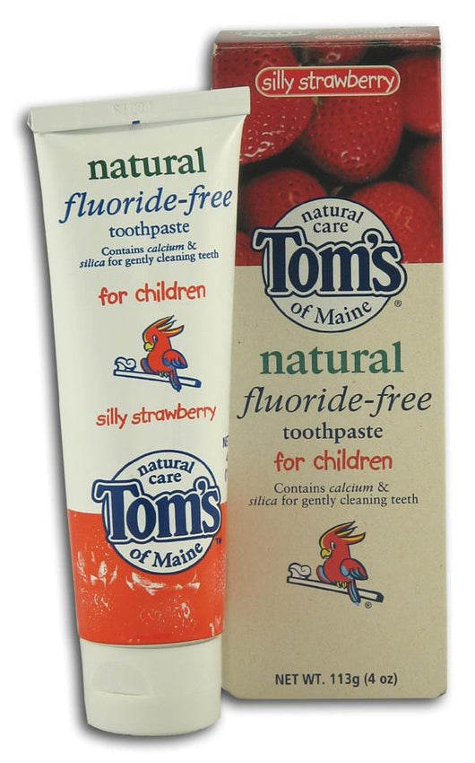 Tom's of Maine Toothpaste for Children Silly Strawberry - 4.2 ozs.