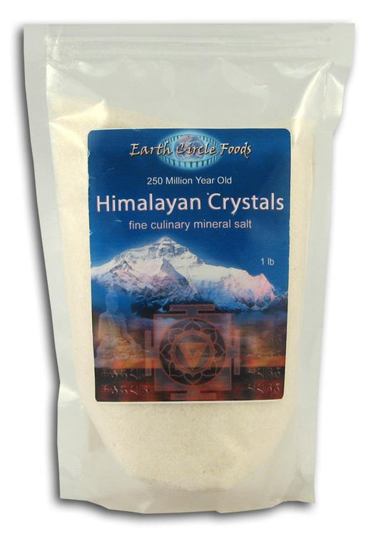 Earth Circle Organics Himalayan Crystal Salt Fine - 1 lb.