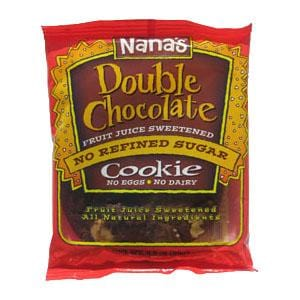 Nana's Cookies Double Chocolate Cookie - 12 x 3.5 ozs.