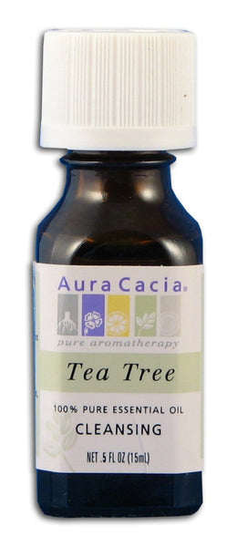 Aura Cacia Tea Tree Oil - 0.5 oz.