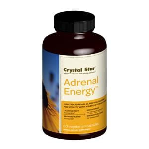 Crystal Star Adrenal Energy - 60 Veg Caps