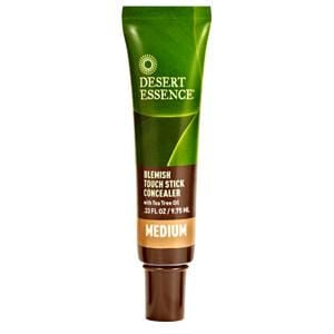 Desert Essence Blemish Touch Stick Concealer, Medium - 0.33 ozs.