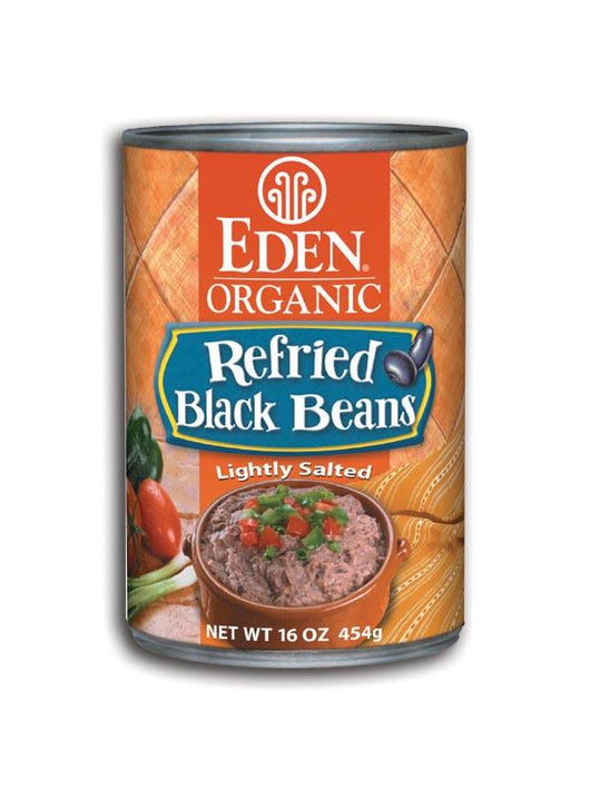 Eden Foods Refried Black Beans Organic - 16 ozs.