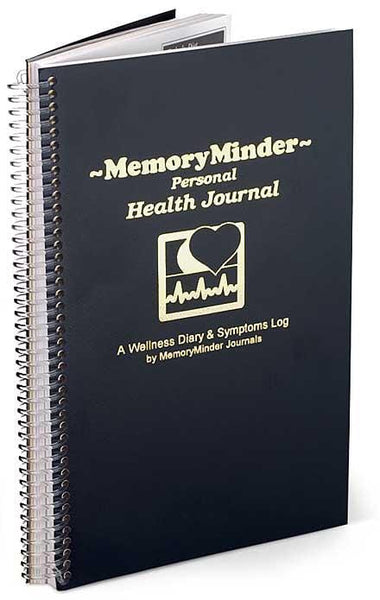 Memory Minder HealthMinder Personal Wellness Journal - 1 book