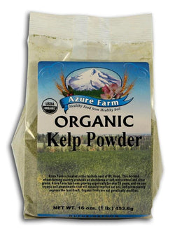 Azure Farm Kelp Powder Organic - 1 lb.