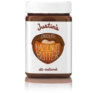 Justin's Nut Butter Hazelnut Butter, Chocolate - 6 x 16 ozs.