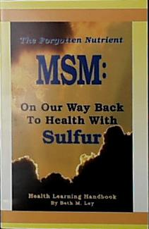 Books MSM: Back to Health with Sulphur - 1 book
