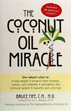 Books Coconut Oil Miracle The - 1 book