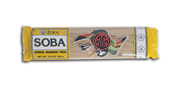 Eden Foods 40% Buckwheat Soba Pasta Imported - 8 ozs.