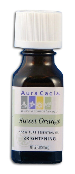 Aura Cacia Orange Oil - 0.5 oz.