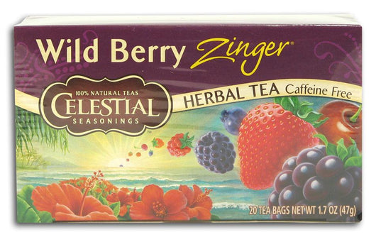 Celestial Seasonings Wild Berry Zinger Tea - 1 box
