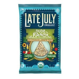 Late July Multigrain Snack Chips, Dude Ranch, Organic - 12 x 5.5 ozs.