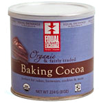 Equal Exchange Organic Cocoa Baking Cocoa 8 oz.