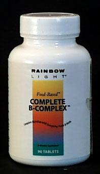 Rainbow Light Complete B Complex - 90 tablets