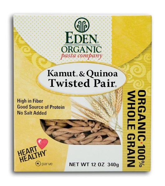 Eden Foods Twisted Pair Organic - 6 x 12 ozs.