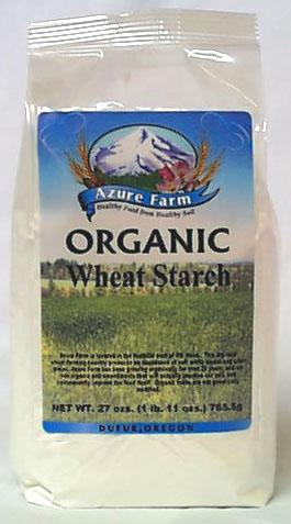 Azure Farm Wheat Starch Organic - 27 ozs.