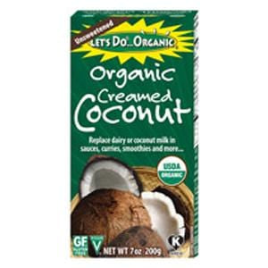 Let's Do...Organic Creamed Coconut, Organic - 6 x 7 ozs.