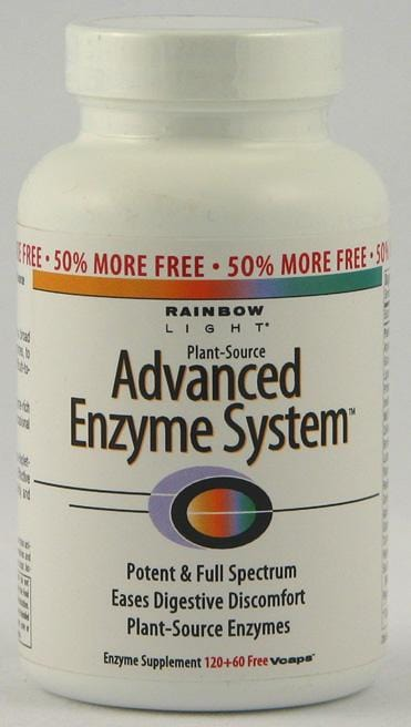 Rainbow Light Advanced Enzyme Nutrition - 120 caps