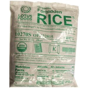 Lotus Foods Forbidden Rice, Organic - 15 oz