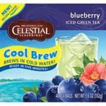 Celestial Seasonings Cool Brew Teas Blueberry 40 tea bags