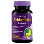Natrol Probiotics Acidophilus 100 mg 150 caps (value size)