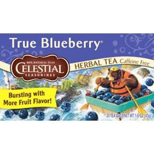 Celestial Seasonings True Blueberry - 6 x 1 box