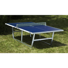 JOOLA City Outdoor Table Tennis Table with Metal Net - Game Room Lounge Table Tennis, Joola