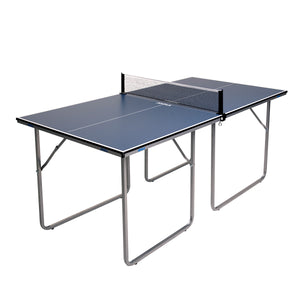 JOOLA Midsize Table Tennis Table with Net Set - Game Room Lounge Table Tennis, Joola