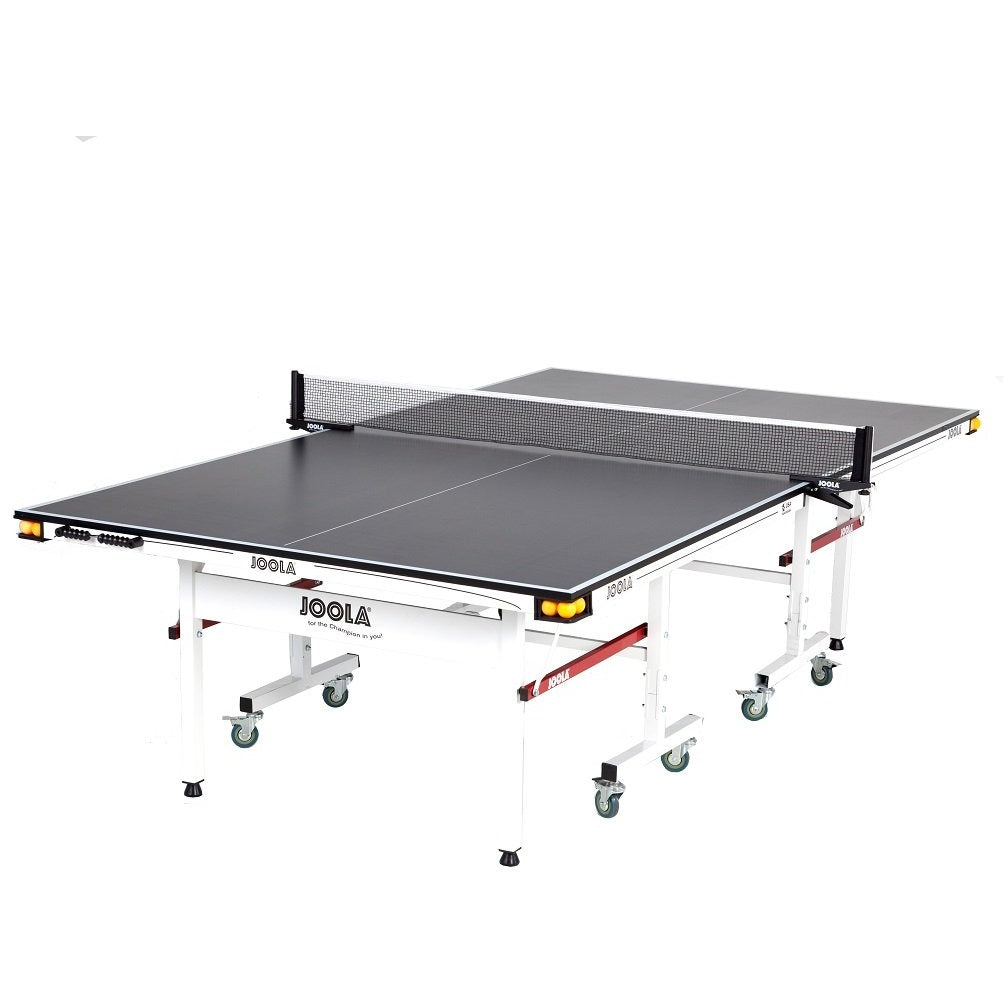 JOOLA Drive 1800 Table Tennis Table with Net Set - Game Room Lounge Table Tennis, Joola