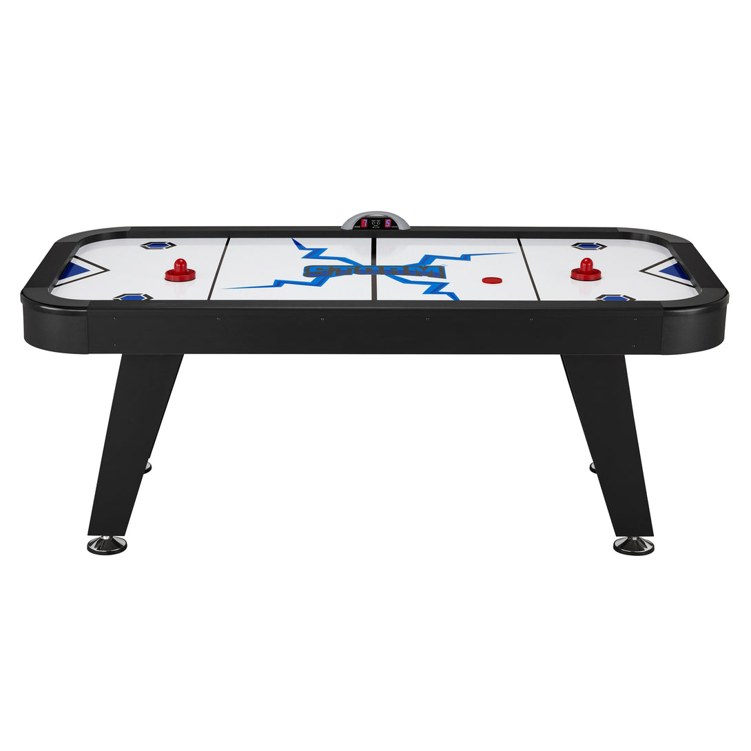 Fat Cat Storm MMXI Air Powered Hockey Table - Game Room Lounge Air Hockey Table, Fat Cat
