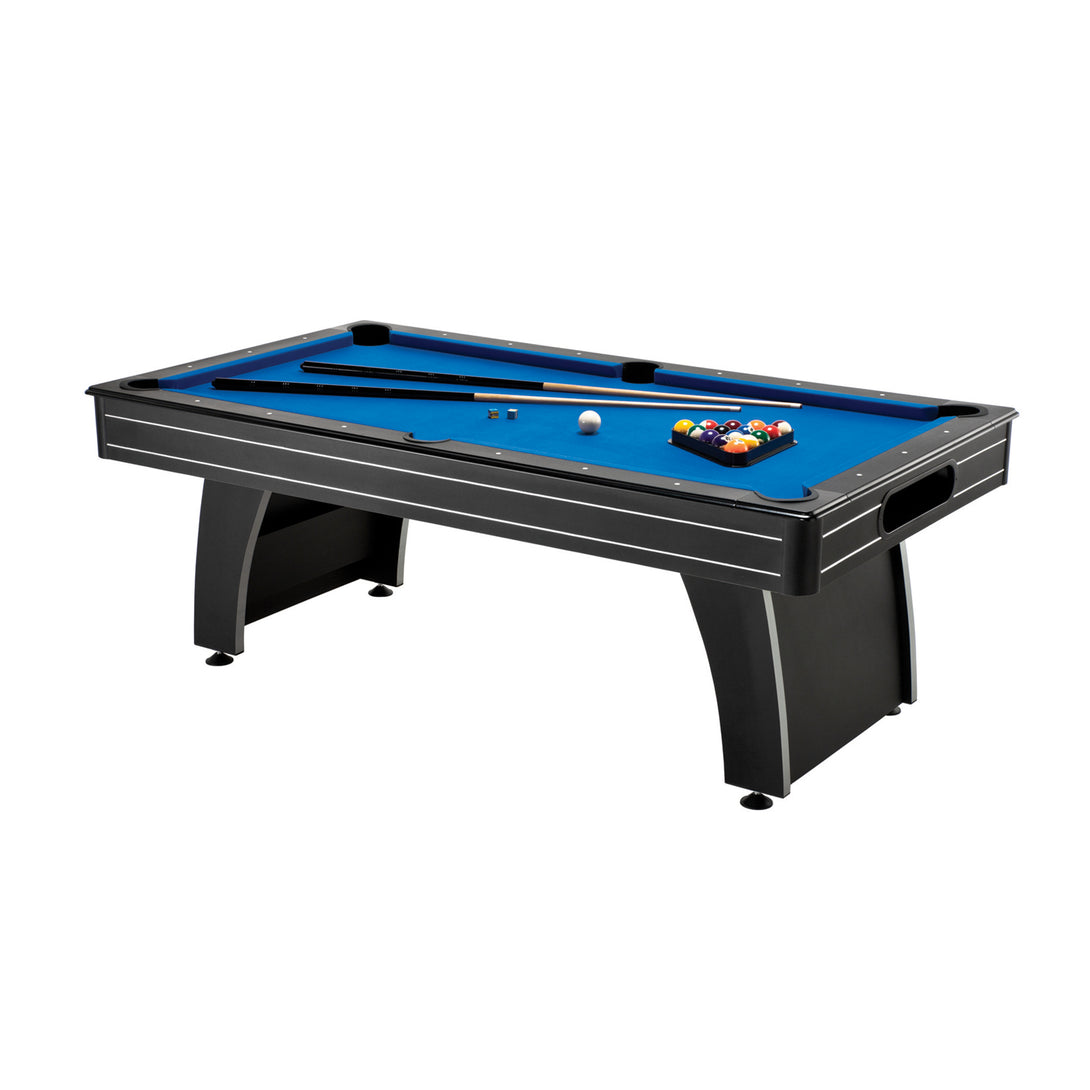Fat Cat Tucson MMXI 7Ft Billiard Table W/Ball Return - Game Room Lounge Billiards, Fat Cat