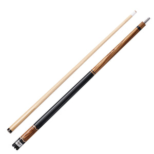 Viper Naturals Zebrawood Cue - Game Room Lounge Cue Stick, Viper