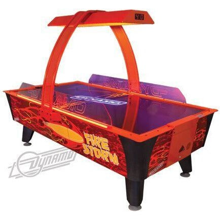 Dynamo Fire Storm Air Hockey Table - Game Room Lounge Air Hockey Table, Dynamo