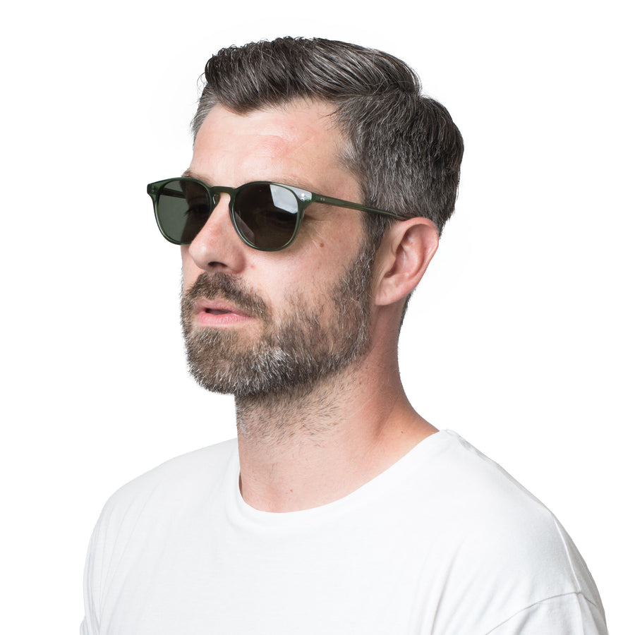 [Custom] Pearlin's P3 Classic Hunter Green Clear with Grey Prescription Polarized Lenses (Launch Edition)