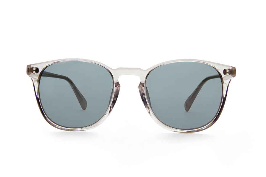 Rocket MTO P3 Classic Smoke Crystal & Ghost with Grey Polarized Lenses (Crystal Strikes Back)