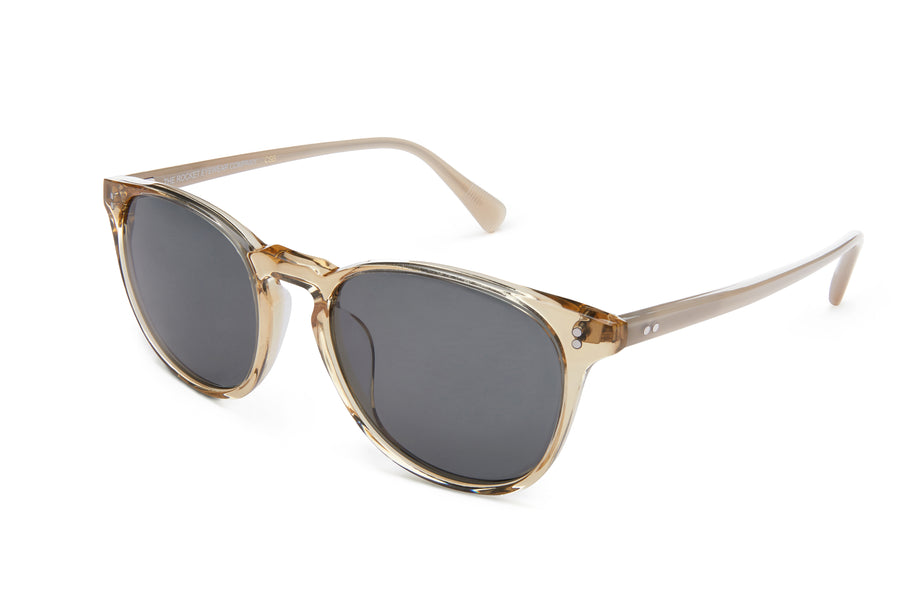 Rocket MTO P3 Classic Gold Crystal & Putty with Grey Polarized Lenses (Crystal Strikes Back)
