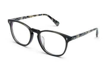 Rocket MTO P3 Classic Charcoal Black & Marble Tortoise Glasses (Tortoise Returns)