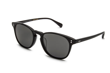 Rocket Eyewear Company P3 Classic Sunglasses Jet Black with Grey polarized lenses