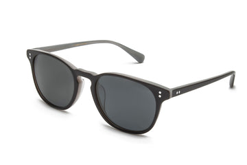 Rocket Eyewear Company P3 Classic Sunglasses Onyx Gainsboro with Grey polarized lenses